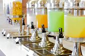 pic of banquette  - Fresh juice at buffet restaurant - JPG