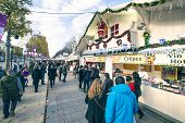 Christmas Market In Paris