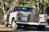 Beige Mercedes W110