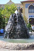 interesting fountain in Konya, Turkey