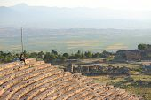 ruins of ancient town Hierapolis