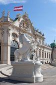 Belvedere In Vienna; Austria