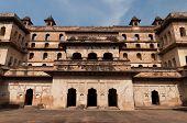 foto of india gate  - Raj Mahal palace in Orchha - JPG