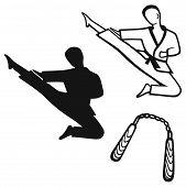 image of karate  - Karate male - JPG