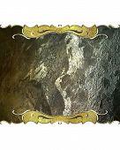 foto of plaque  - Element for design - JPG