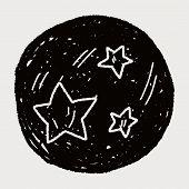 picture of meteor  - Doodle Meteor - JPG