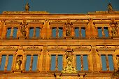 foto of samson  - Heidelberger Schloss Castle Ottheinrich building - JPG