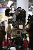 Câmera de televisão