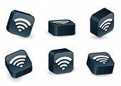 Three-dimensional Wi-Fi Blocks