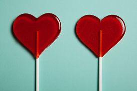 image of lollipops  - Two lollipops - JPG