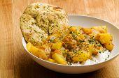 An indian vegetarian curry - Dhaal Aloo