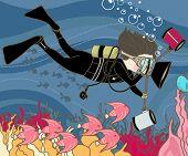 professional underwater photographer