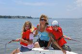 Familia de barco