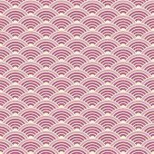 Vector background of a scaly pattern