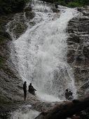 Lata Iskandar Cachoeira na Malásia