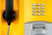 Teléfono amarillo