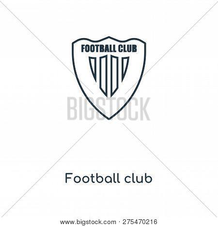 Football Club Icon In Trendy