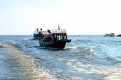 Travel In Tonle Sap Lake, Khmer Republic
