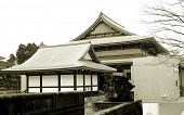 Historic Japanese temple at Narita airport Japan