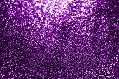 Bokeh Violet Purple Glittering Light Shine, Purple Sparkling Luxury Grand Bright For Background Cosm poster