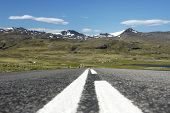 Iceland, Peninsule o Snaefells, the road called