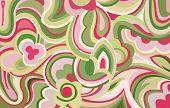 Retro Swirls And Curves