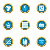 Dirt Icons Set. Flat Set Of 9 Dirt Icons For Web Isolated On White Background poster