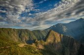 Machu Picchu, Peru. The Ancient Inca City, Located On Peru At The Mountain An Altitude Of 2,450 Mete poster