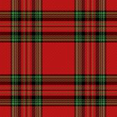 Christmas And New Year Tartan Plaid. Scottish Pattern In Red, Green And Black Cage. Scottish Cage. T poster