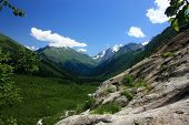 image of firn  - Summer in the mountains the summer season in the alpine zone - JPG