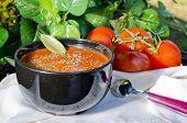 Tomato Soup Outside