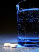 picture of glass water  - take two aspirin and call me in the morning - JPG