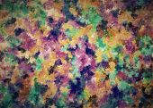 Colorful Abstract For Background And Texture,colorful Abstract. Oil Painting On Canvas.brush Strokes poster