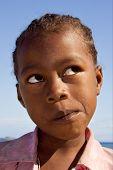 Child In Madagascar