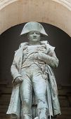 picture of bonaparte  - Statue of Napoleon Bonaparte Les Invalides Paris France - JPG