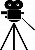 Movie Camera.