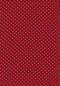 Green Polka Dot Vintage Pattern On Red Cloth Texture