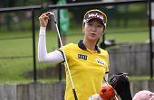 Kyeong Bae at Evian Masters, July 22, 2012