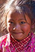 Portrait of nevaris girl , Nepal