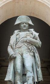 foto of bonaparte  - Statue of Napoleon Bonaparte Les Invalides Paris France - JPG