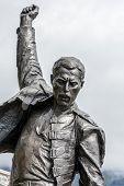Freddie Mercury Statue Closeup