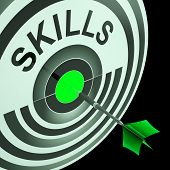 Skills Shows Skilled, Expertise, Professional Abilities