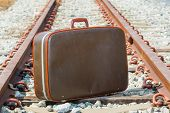 Traveling Bag And Railway