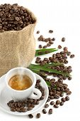 the aroma of espresso