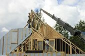 Roof Frame And Crane
