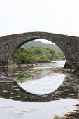 Clachan Bridge, Seil Island, Argyll Scotland Also Known Atlantic Bridge