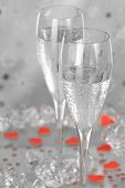 Champagne With Hearts
