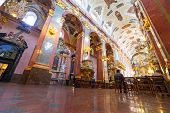 CZESTOCHOWA, POLAND - JUNE 24: Interiors of Jasna Gora monastery in Czestochowa on 24 June 2013. San