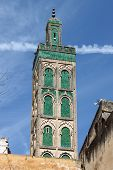 Minaret of Mosque Sidi Ahmed Tijani