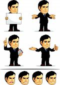 Businessman Or Company Executive Mascot 8